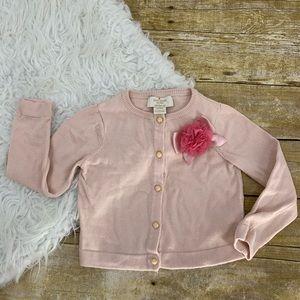 Kate Spade baby Girl Pink Cardigan Sweater 24mo